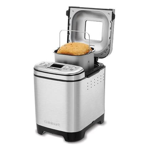 Your bread will be fresh and moist when you remove it from the machine, and you can adjust the speed and time of the bread baking process with a simple flip of the switch. Cuisinart Compact Bread Maker Recipes - Cuisinart BMKR-200PC Fully Automatic Compact Bread Maker ...