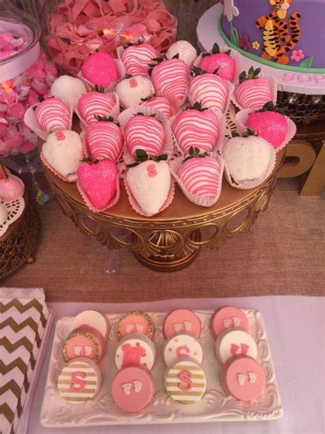 elegant pink flower baby shower baby shower ideas