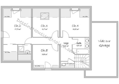chambre en perspective plans de maisons contemporaines catalogue et plans