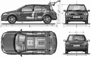 Dimension Megane 4 : the blueprints cars renault renault megane ii 5 door 2007 ~ Medecine-chirurgie-esthetiques.com Avis de Voitures