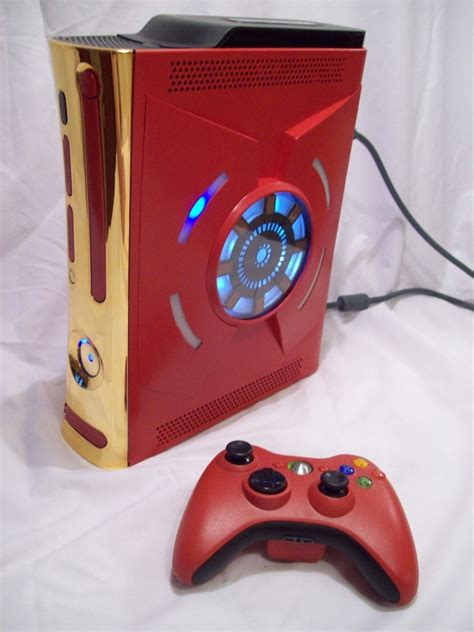 Awesome Custom Made Iron Man Xbox 360 — Geektyrant