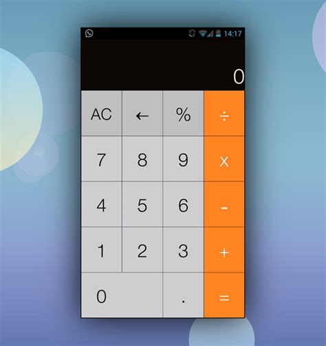how to android apps on ios how to get ios 7 style calculator app on android redmond pie