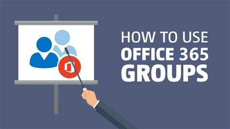 Office 365 Outlook How To Use how to use office 365 groups