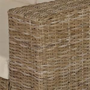 Rattan 2 Sitzer : vidaxl 7 tlg 2 sitzer sofa set echtes rattan g nstig kaufen ~ Whattoseeinmadrid.com Haus und Dekorationen