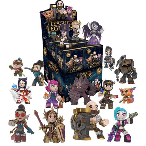 League Of Legends Mystery Mini Blind Box Eb Games