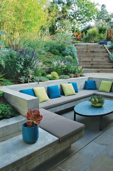 built in garden seating design ideas garden furniture inspiration
