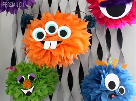 fun  spooky halloween monster crafts  kids