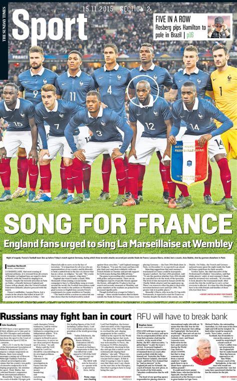 Sunday Times Sport London Latest News