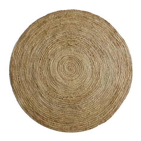 tapis rond en jute naturelle tress 233 track by drawer