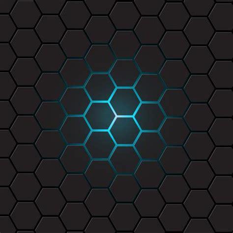 dark gray hexagon background vector