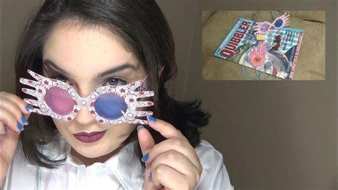 diy luna lovegood glasses spectrespecsquibbler magazine