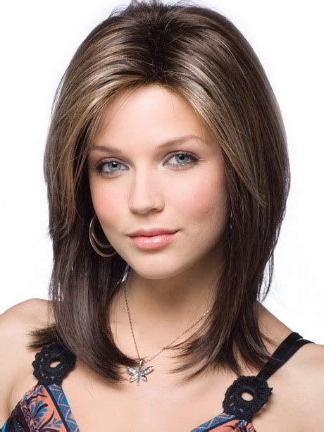 Length Hairstyles For Faces by Medium Length Hairstyles For Oval Faces