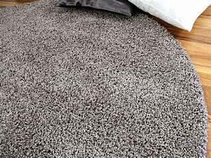 Hochflor Teppich Rund : teppich hochflor shaggy premio silber rund in 7 gr en teppiche hochflor langflor teppiche ~ Indierocktalk.com Haus und Dekorationen