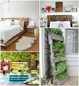 10 Creative Ways to Use Recycled Pallets to Decorate Your