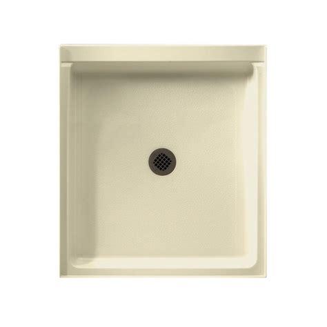 36 x 42 shower pan swan veritek 42 in x 36 in single threshold center drain 7339