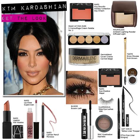 Kim Kardashian Makeup How Tos And Dupes The Starlet