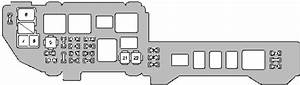 Lexus Es300  2000 - 2001  - Fuse Box Diagram