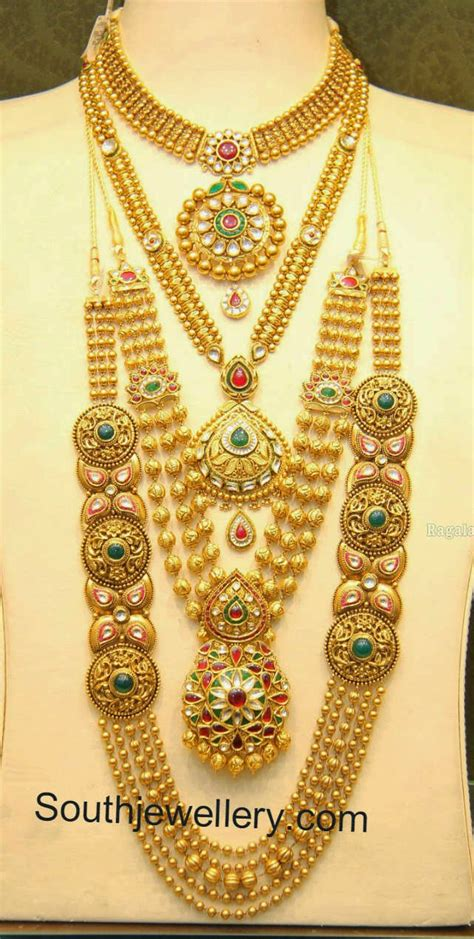 malabar gold antique necklace and gundla mala collections