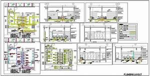 Toilet Plumbing Design  Supply  Drainage System