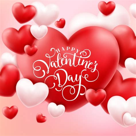 Valentine's background design | Free Vector