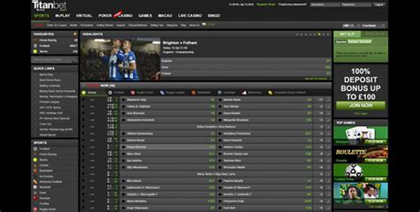 Titanbet Mobile App by Bookmaker Titanbet Review And Rating Betting At