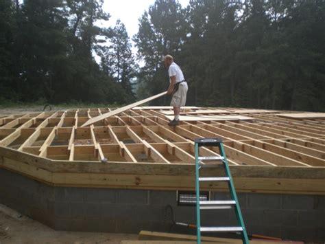 2011 alabama dome home built with econodome t beam frame kit