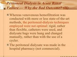 18 Use Of Peritoneal Dialysis For The Treatment Of Acute ...