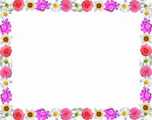 Flower Border Line Design - ClipArt Best