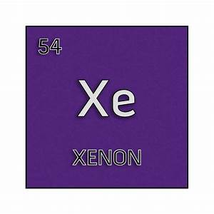 Color element cell for xenon. - Science Notes and Projects