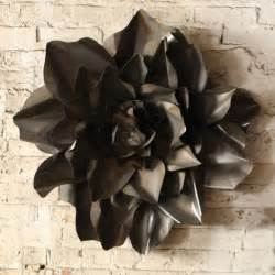 I am so getting this love metal flower wall