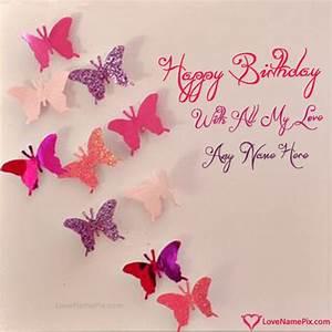 Handmade Happy Birthday Cards Name Generator