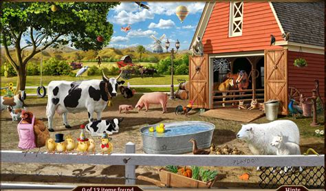 Looking for the best wallpapers? Spring Eggstravaganza: Scene 1 - Springtime Farm ...