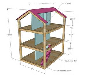 Photo Of Doll House Plans Ideas by White Dollhouse Diy Projects