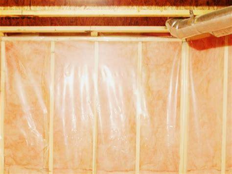 basement floor vapor barrier installation how to install a basement vapor barrier hgtv