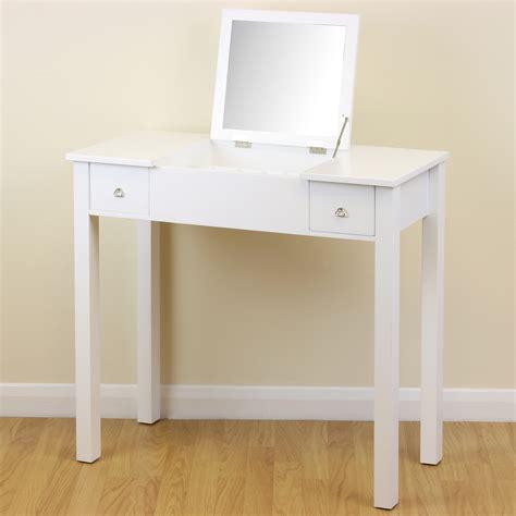 Hartleys Bedroom Dressing Table With Folding Vanity Mirror by White Dressing Room Bedroom Vanity Make Up Table Desk