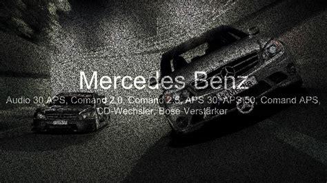 Tür Reparieren Lassen by Mercedes Autoradio Navi Reparatur Comand Aps Schnell