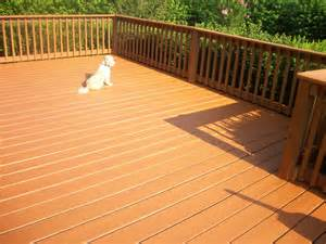 Thompson Deck by Thompson Wood Cleaner And Stain Deck Makeover Review