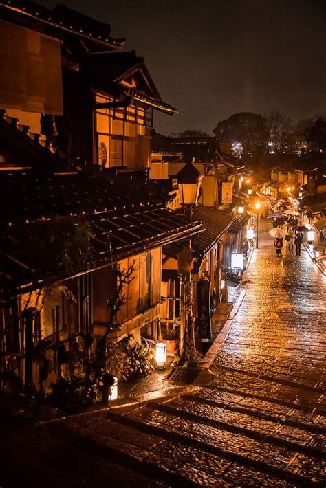 rainy alley    dark japan rainy night