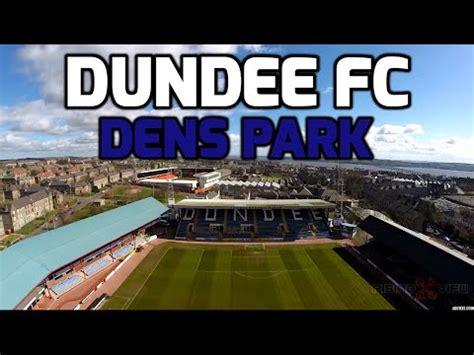 dundee football club dens park dji phantom  drone gopro hero  youtube