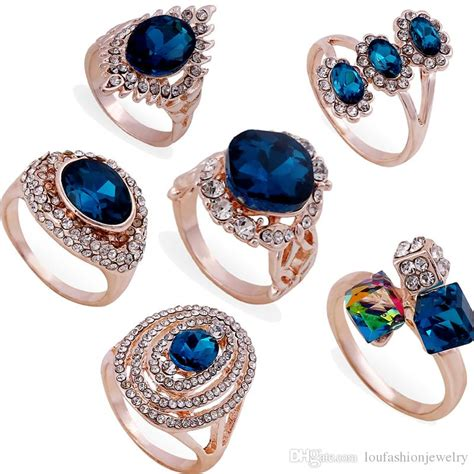 2019 affordable cubic zirconia wedding rings mix style new arrival fast shipping online sale
