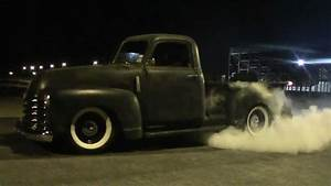 1949 Chevy Truck 3100 Burnout