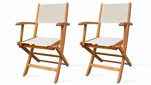 Fauteuil Bois Exterieur : fauteuil exterieur blanc ~ Melissatoandfro.com Idées de Décoration