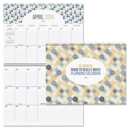 room write big grid month planning calendar