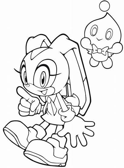 Sonic Cream Coloriage Dibujos Coloring Colorear Colorir