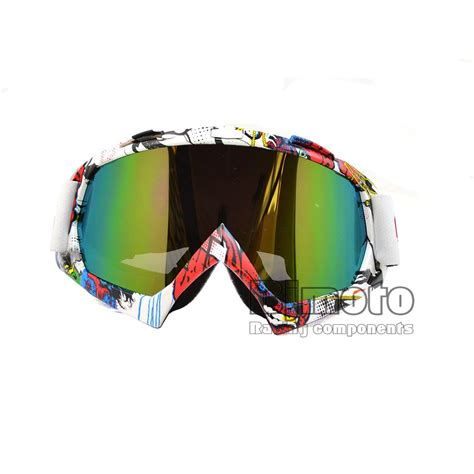 motocross goggles for glasses newest colorful vintage uv protection off road motocross
