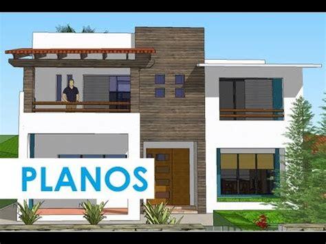 Diseño de Casa de DOS PISOS Planos ConsTRuctivos YouTube