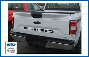 2018 Ford F150 Tailgate Insert Decals Letters Inlay