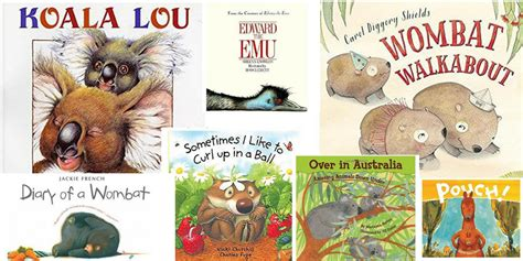 25 fantastic books about australian animals to with your children
