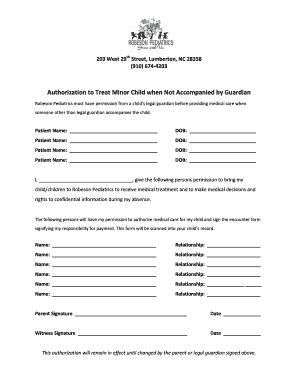 fillable consent to treat form fill online printable