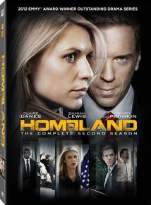 Homeland Season 2 DVD Cover